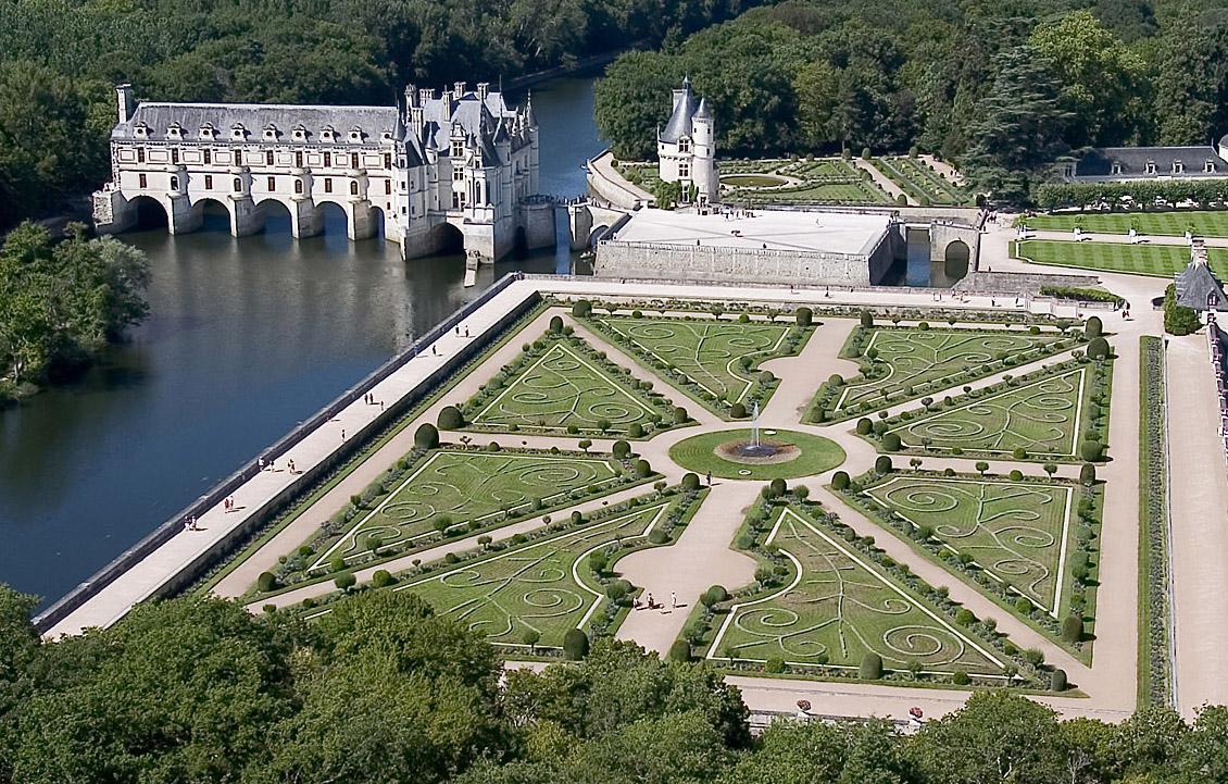 Le château de Chenonceau, également appelé le Château des Dames. © OTBC