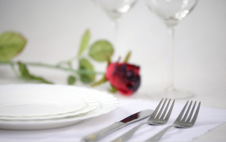 Les menus de la Saint-Valentin à Blois Chambord