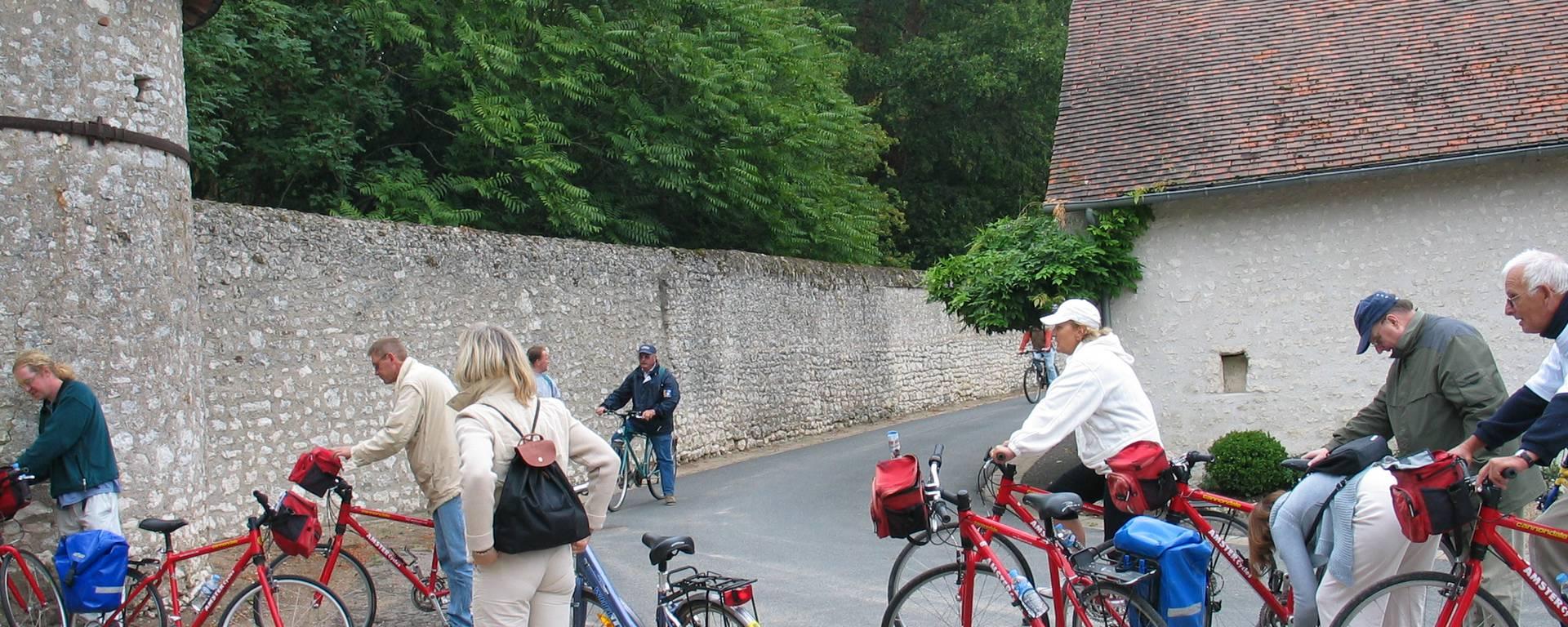 Balade à vélo châteaux de la Loire