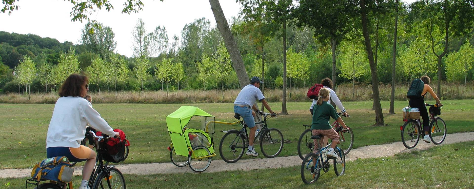 Balade à vélo en famille autour des châteaux de la Loire