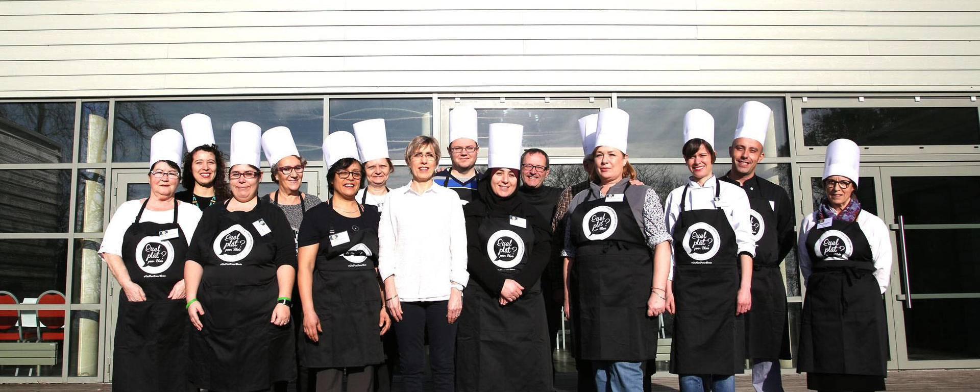 Les participants du concours plat salé. © Ville de Blois