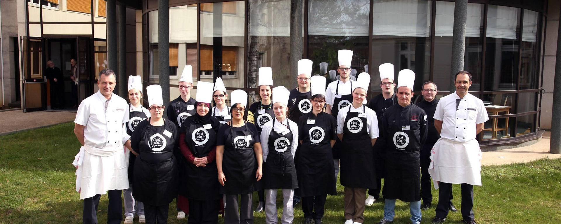 Les participants du concours plat sucré. © Ville de Blois