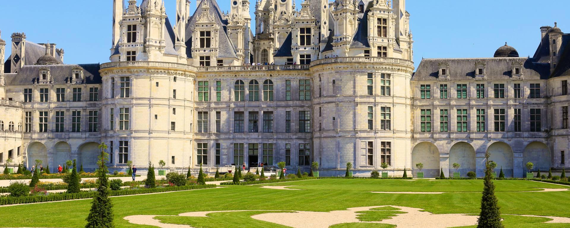 Les jardins et le château de Chambord. © Ludovic Letot