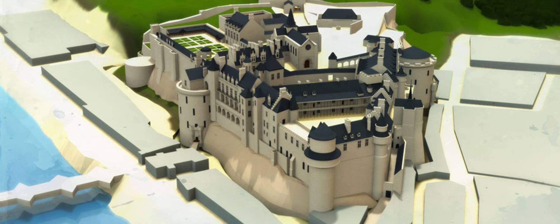 Le château au temps de Catherine de Médicis