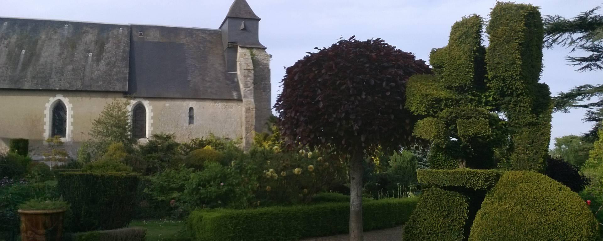 Le prieuré d'Orchaise