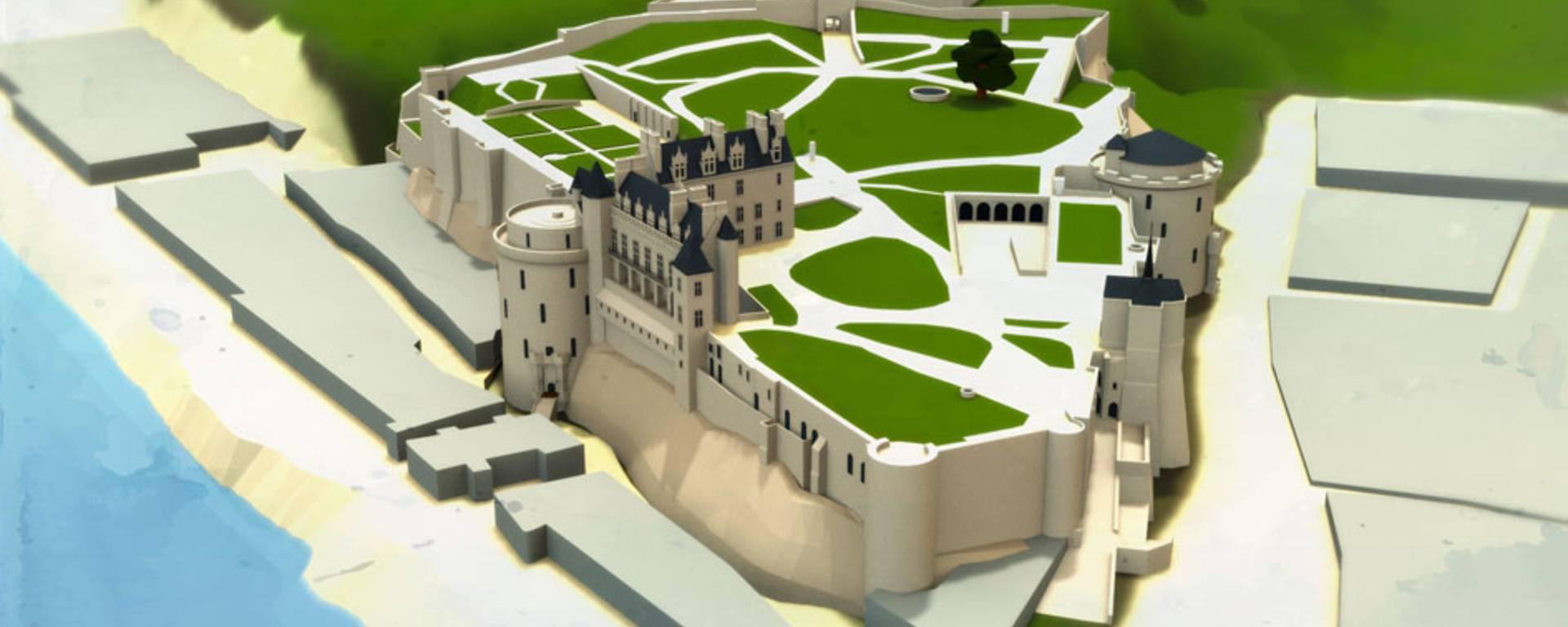 Le château actuel