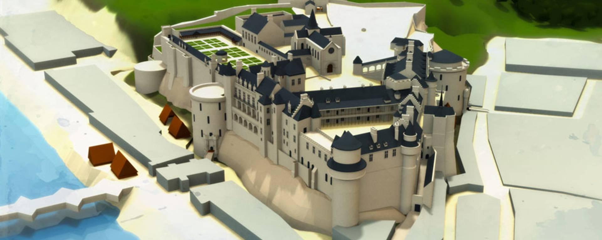Le château au temps de Charls XIII