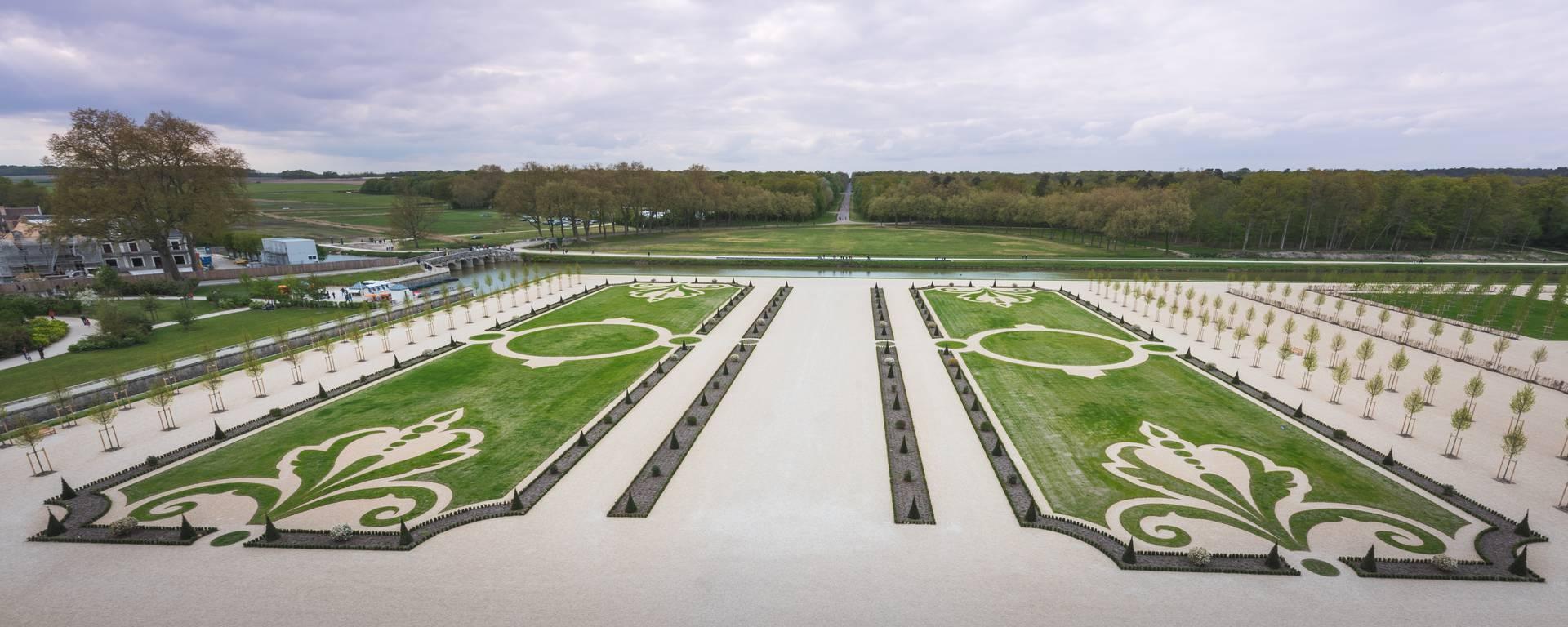 Jardins à la Française de Chambord