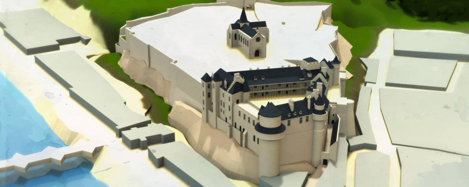 Le château au temps de Louix XI