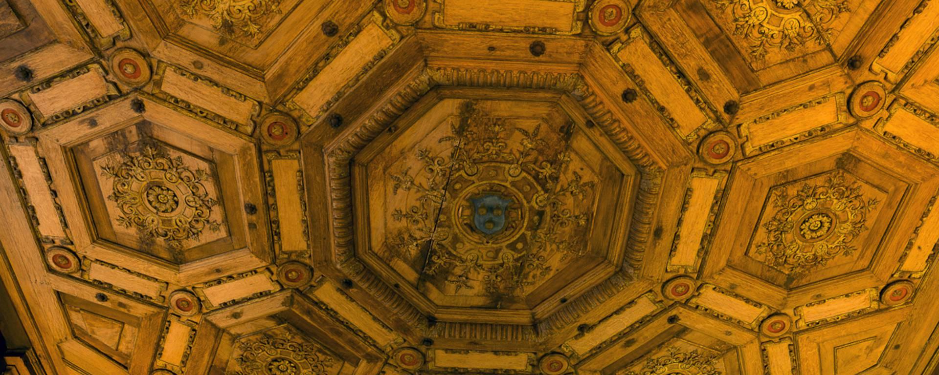 Plafond du château de Beauregard