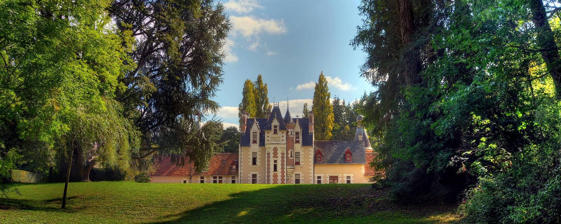 Le parc du château de Troussay