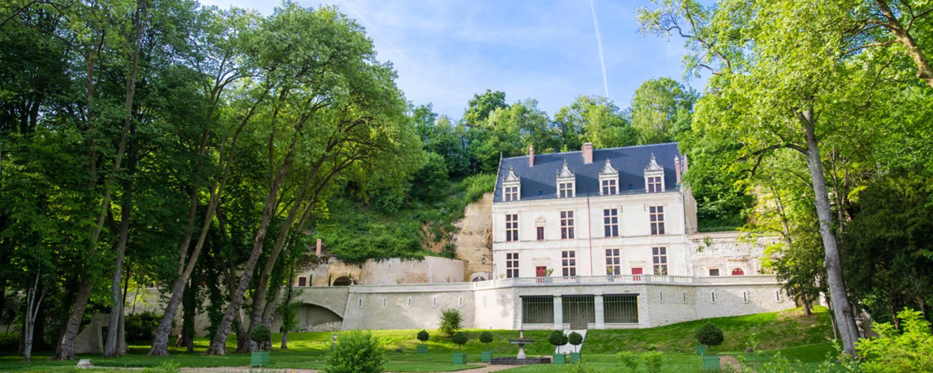 Vue extérieure de Château Gaillard. © OTBC