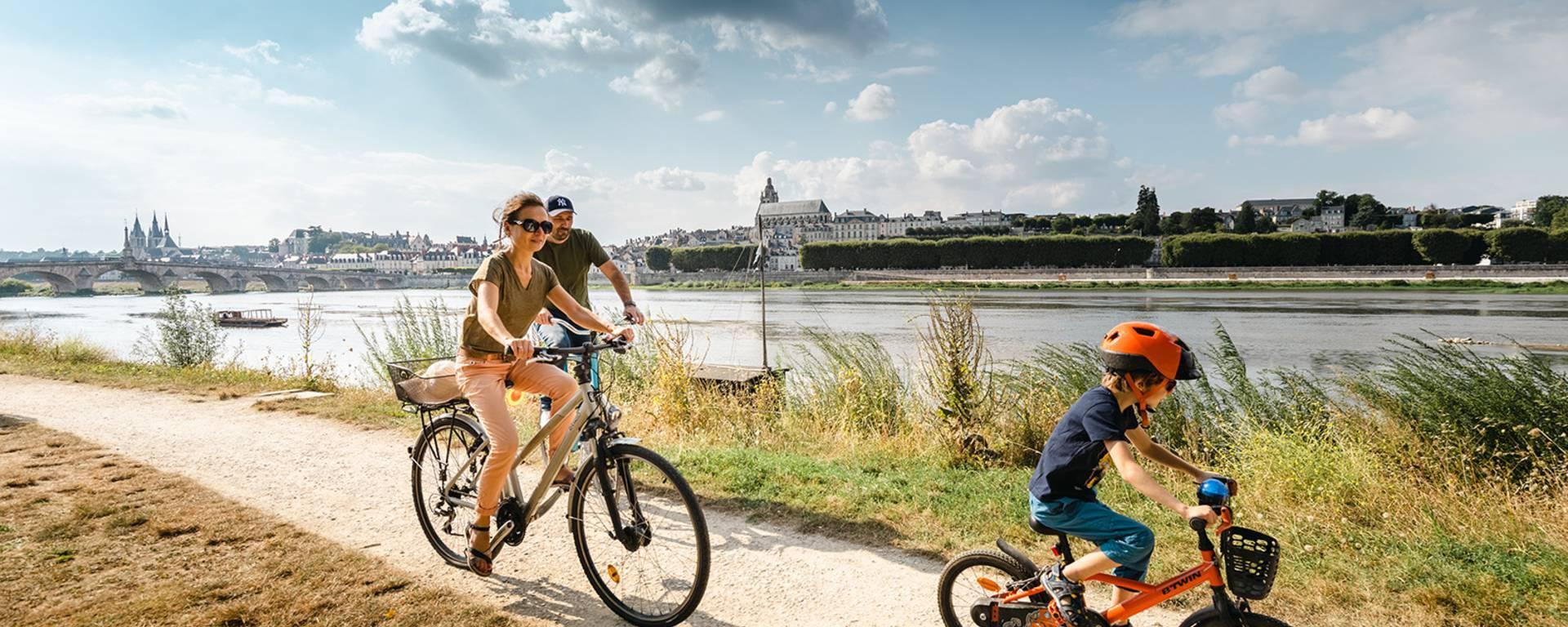Les bords de Loire à vélo