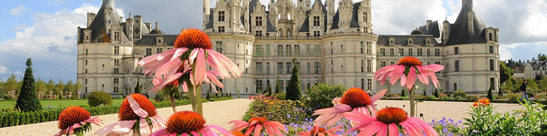 Les jardins du château de Chambord. © OTBC