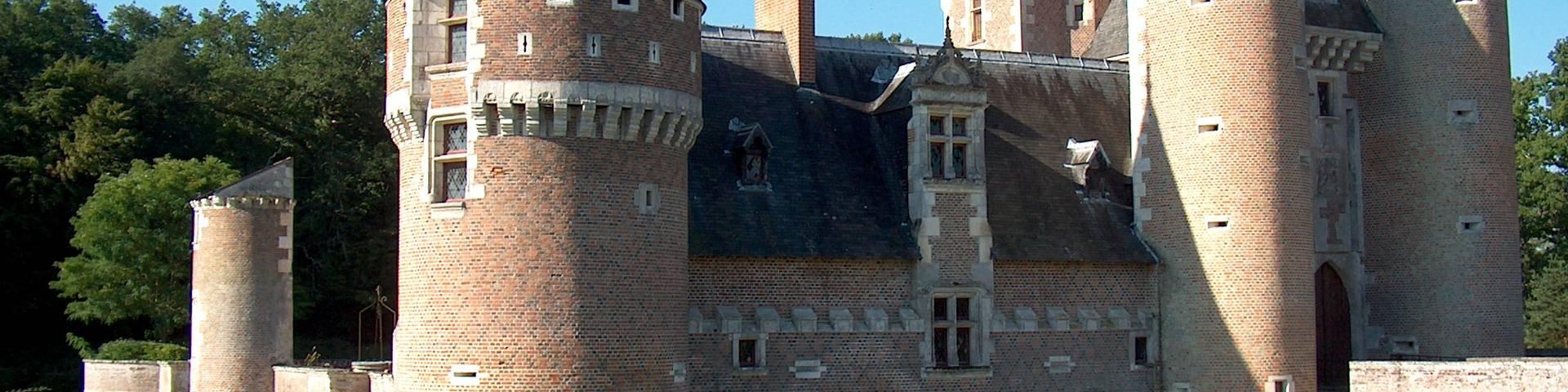 Le château du Moulin. © OTBC