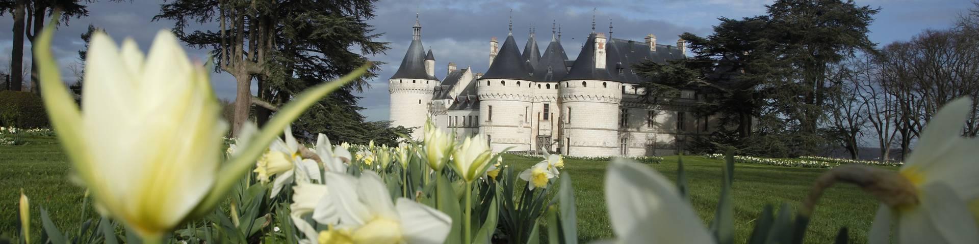 Le Festival International des Jardins à Chaumont-sur-Loire. © E. Sander