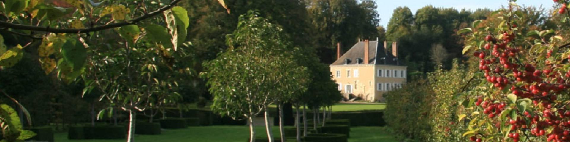 Les jardin du Plessis Sasnières à Vendôme