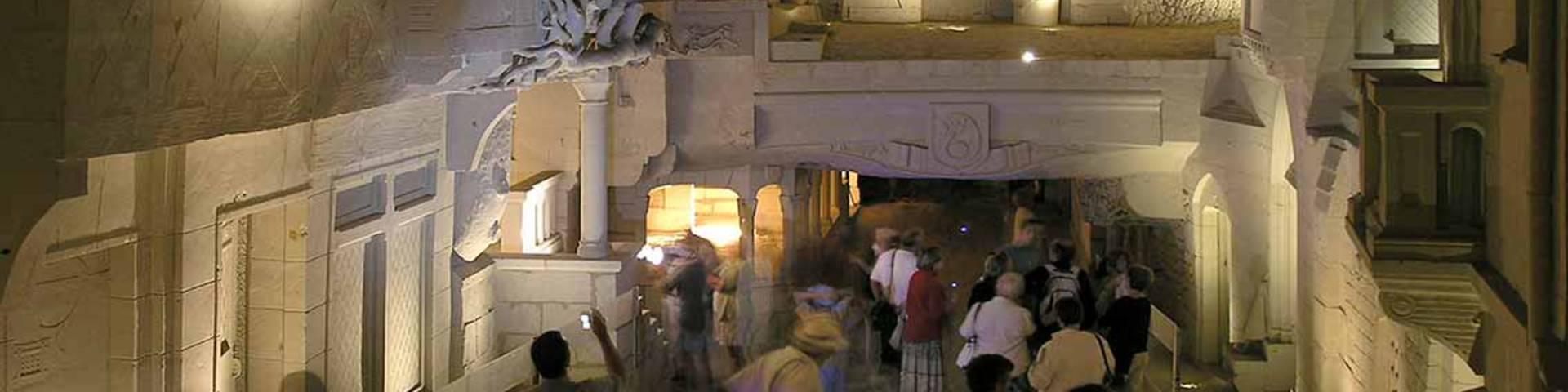 La ville souterraine à Bourré. © Ph. C.Lazi