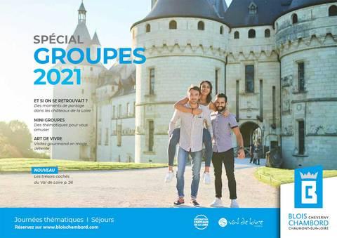 Catalogue groupes 2021 de Blois-Chambord