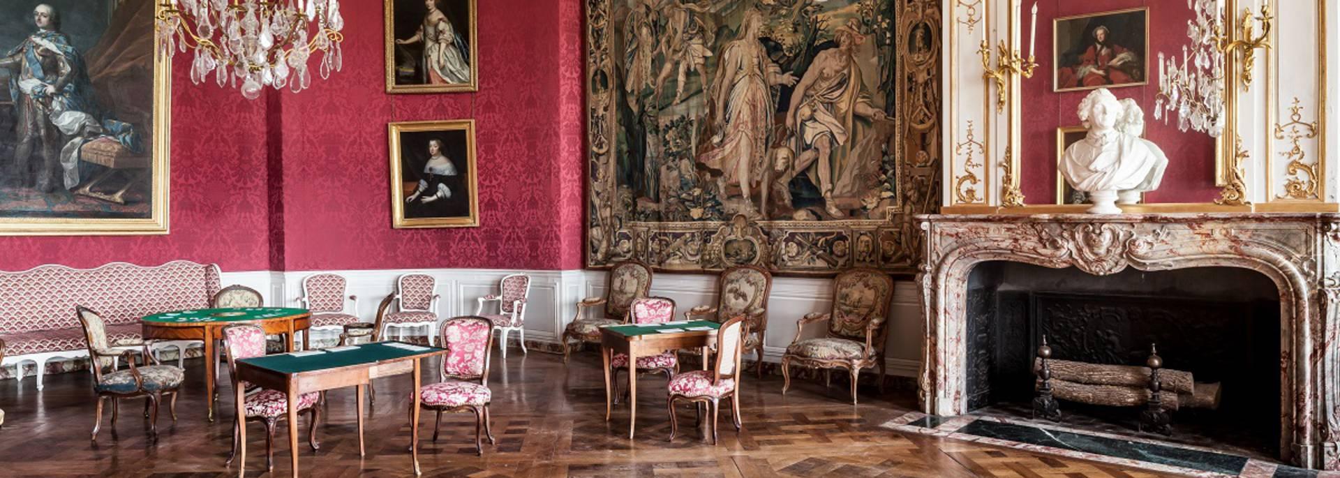 Intérieur du château de Chambord