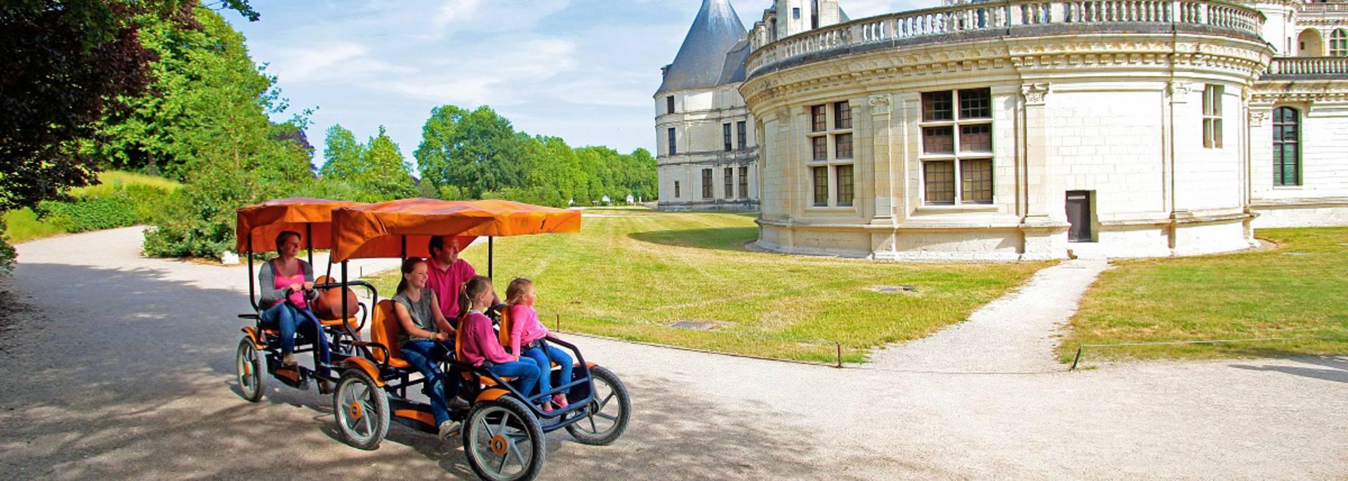 Visite de Chambord en famille