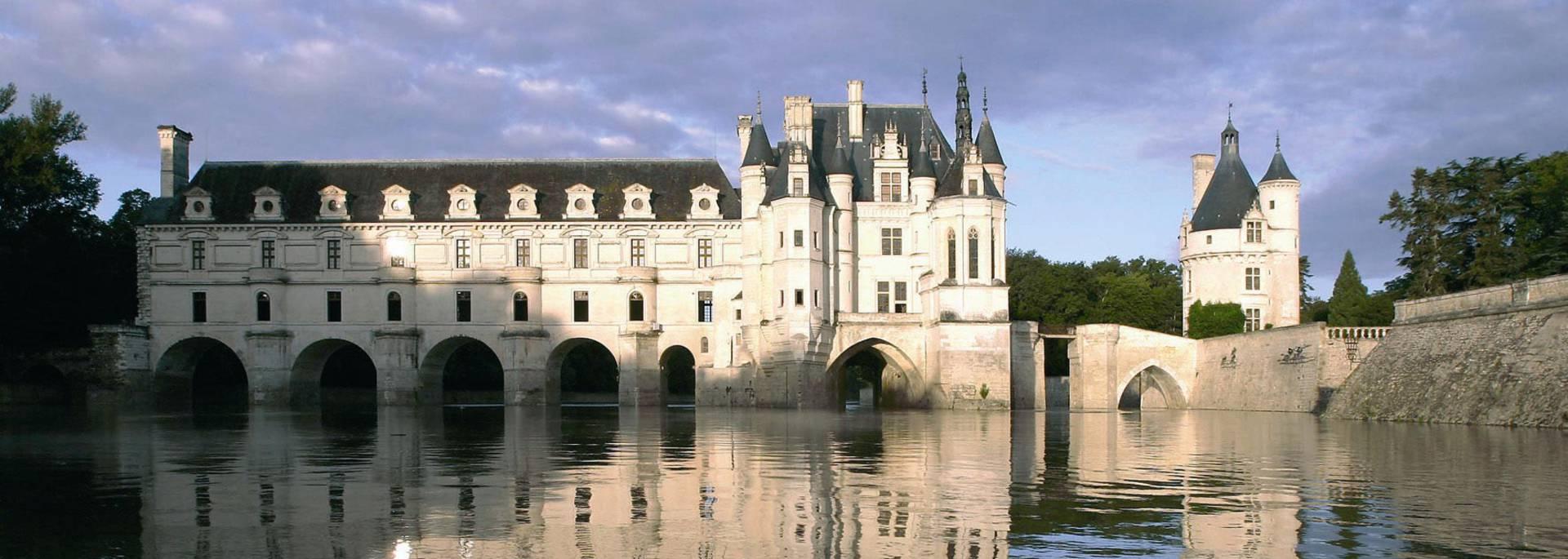 Le château de Chenonceau sur le Cher