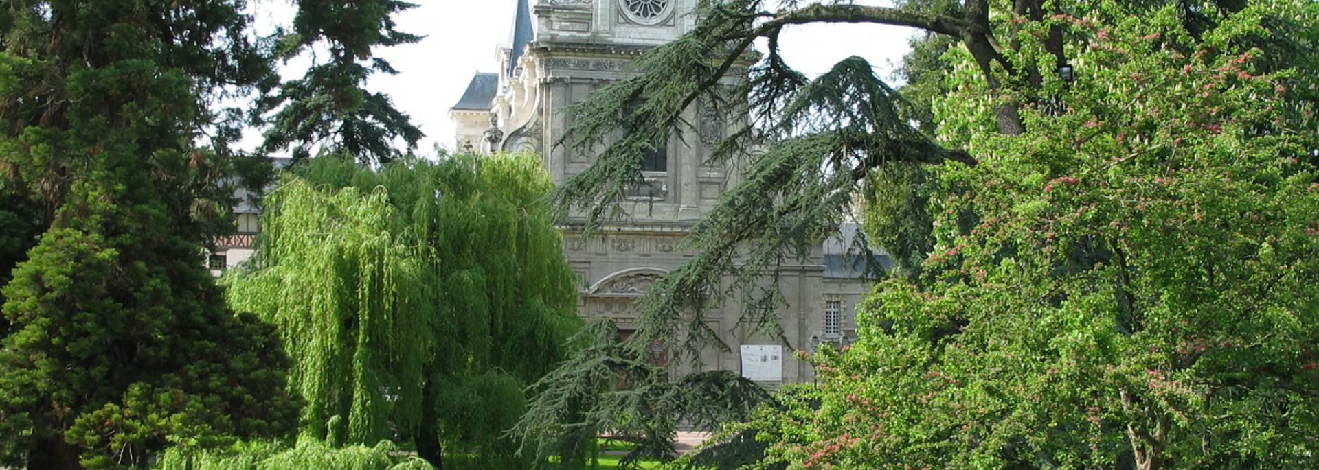 Le jardin Augustin Thierry à Blois