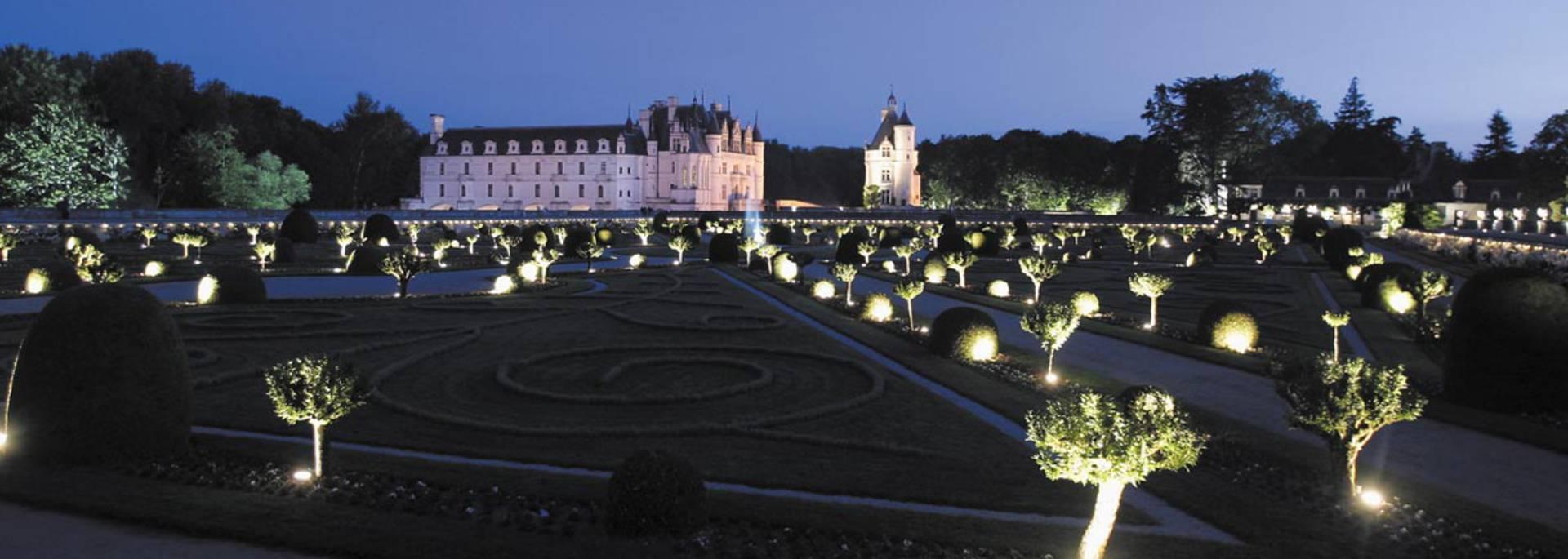 Château de Chenonceau de nuit © Images de Marc