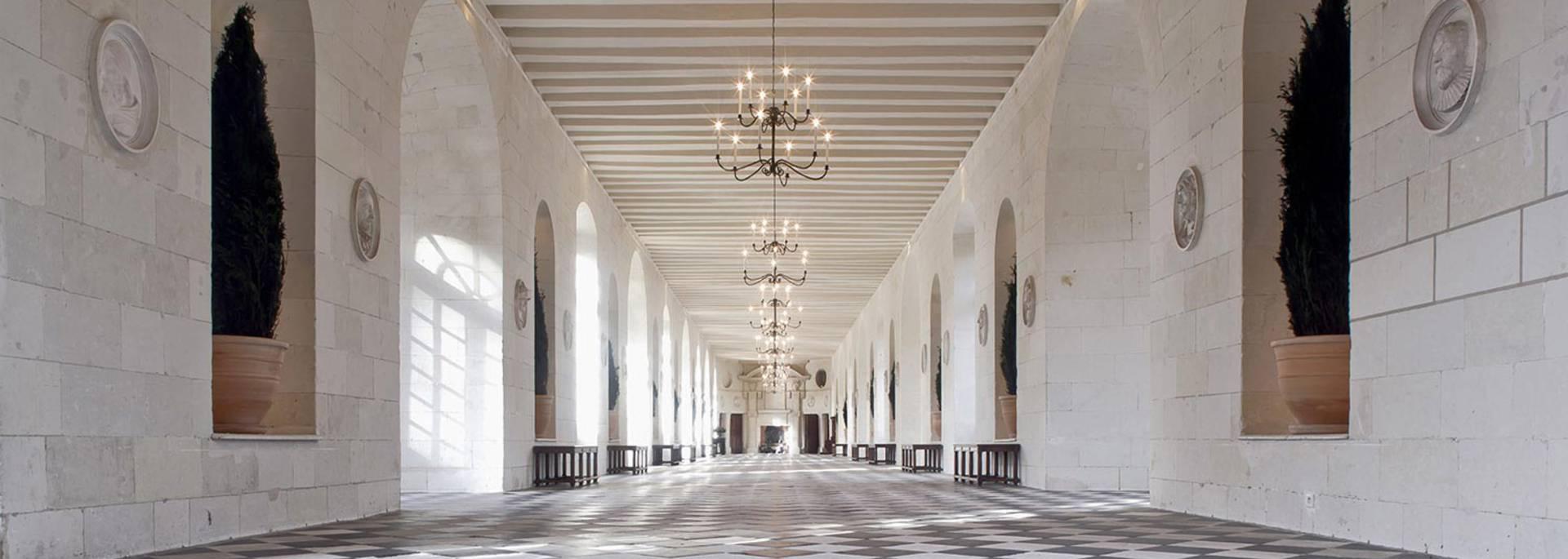 L'intérieur du château de Chenonceau