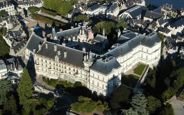 Blois vista dal cielo. © Aerocom