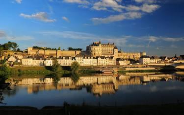 Le Château royal d'Amboise. © L. de Serres