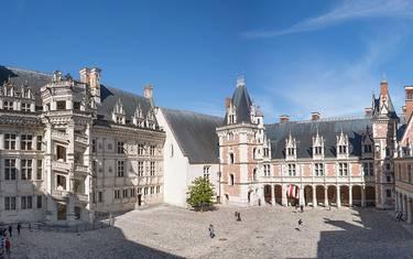 Cour du Château Royal de Blois