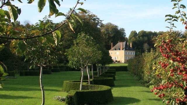 Les jardins du Plessis Sasnières à Vendôme
