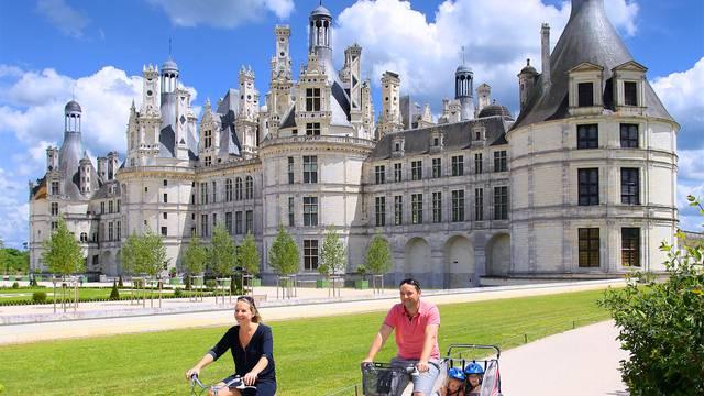 Chambord à vélo © Ludovic Letot