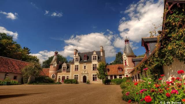 Château de Troussay 1 © L. de Serres