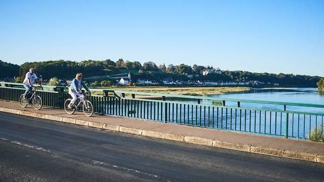 Le château de Chaumont sur Loire avec Châteaux à vélo