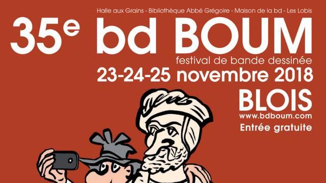 La 35e édition de bd BOUM à Blois du 23 au 25 novembre 2018