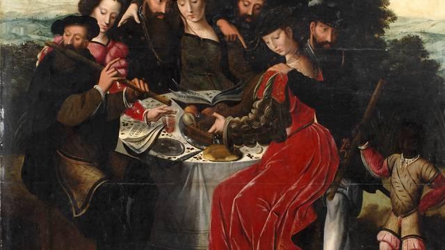 Ambrosius Benson, Le concert après le repas, vers 1550, huile sur bois. © DR