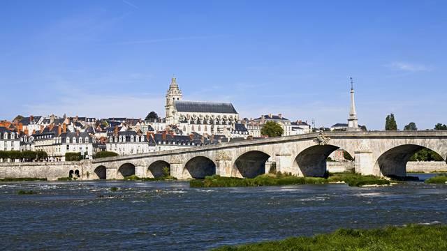 Blois, une ville chargée d'histoire. © Michel Angot