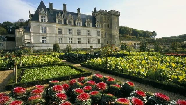 Le château et les jardins de Villandry. © Catherine Bibollet