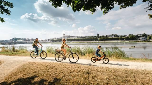 La Loire à vélo à Blois