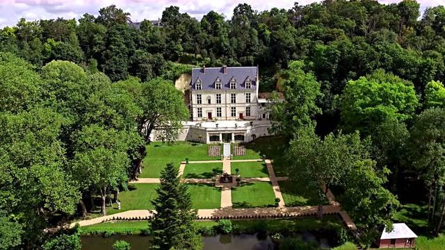 Le Domaine Royal de Château Gaillard à Amboise. © Château Gaillard