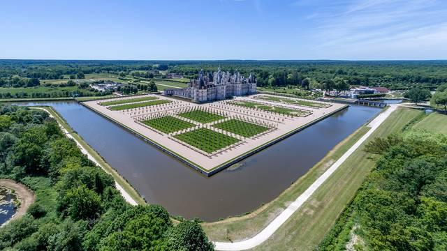 Le château de Chambord, oeuvre majeure du règne de François Ier. © OTBC