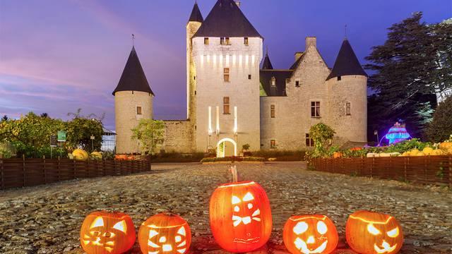Halloween dans les châteaux