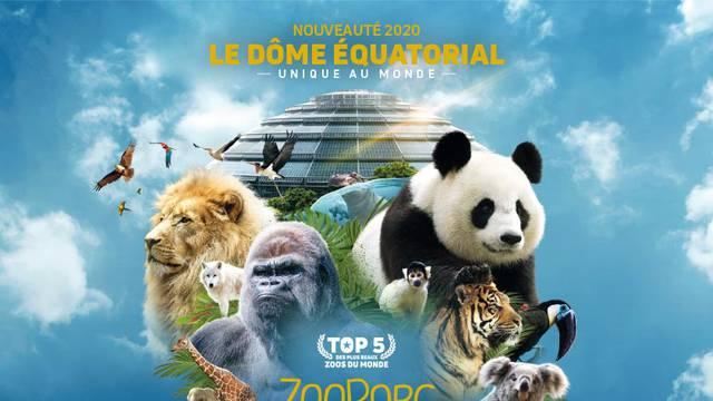 Le ZooParc de Beauval. © ZooParc Beauval