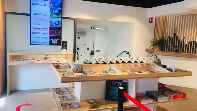 La boutique de l'Office de Tourisme de Blois