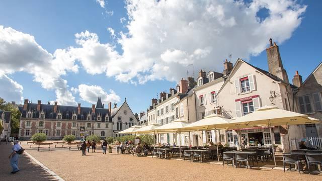 Place du château de Blois