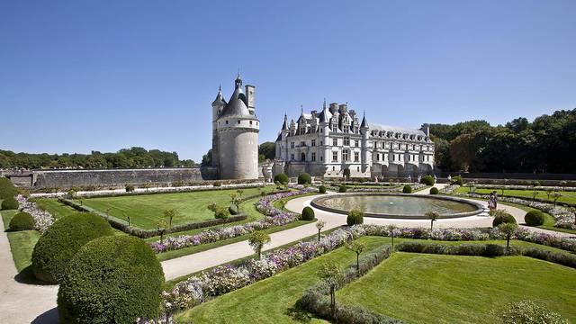Le Château de Chenonceau. © Images de Marc