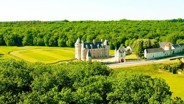 Le château de Montpoupon. © OTBC