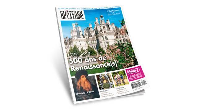 Le magazine Châteaux de la Loire